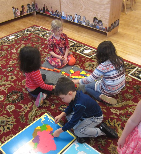 pattern blocks and puzzle map