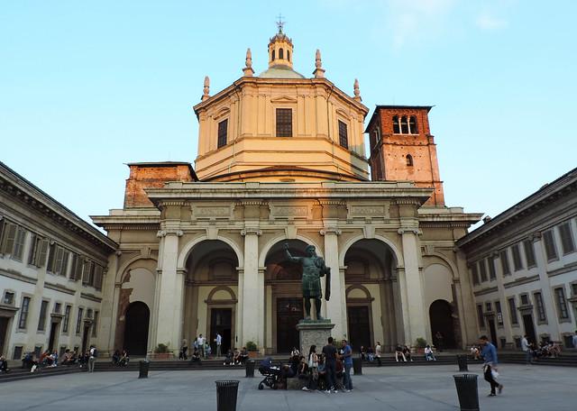 Basilica di San Lorenzo, Milan, Italy