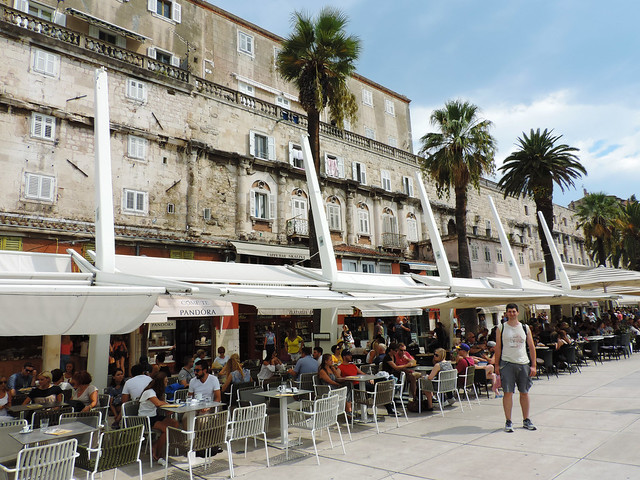 Riva, Split, Croatia