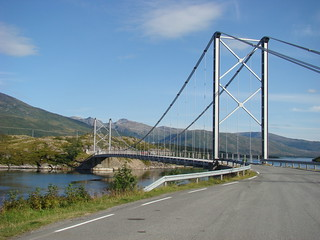 Stop vlakbij Gryllefjord