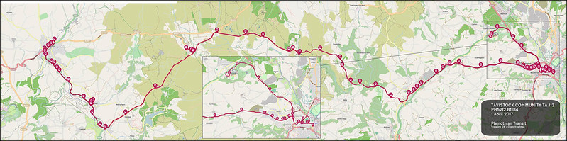 TAVISTOCK COMMUNITY TA route-113