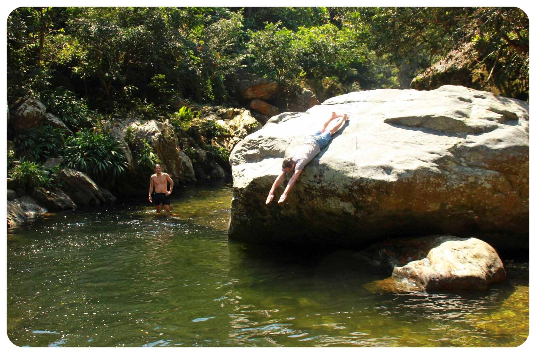 lost city trek river bath