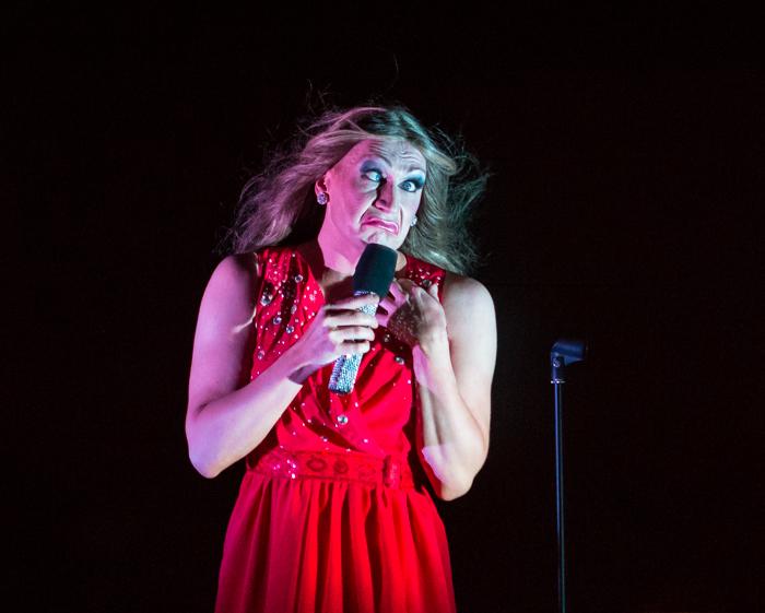 Silja Megastar esiintyjä dragshow divet show marko vaino drag queen celine dion