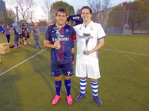 Los capitanes Jorge Centenera y Jorge Miranda