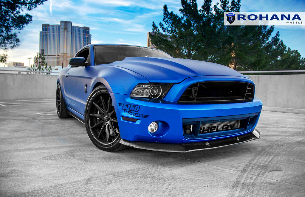 2015 Mustang Wheels >> Ford Mustang - RC10 Matte Graphite (4) | Rohana Wheels ...