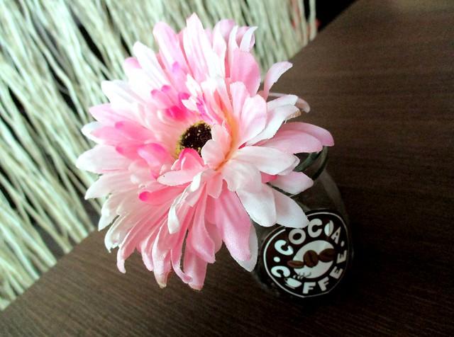 Cocoa Coffee no fresh flowers