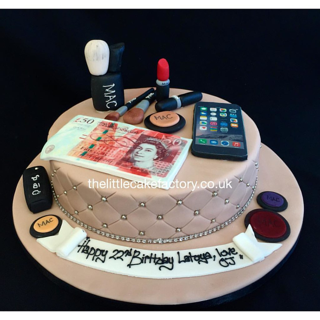 Sugarlicious Mac Make Up Cake mac makeup maccosmetics Flickr