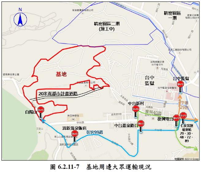 富安產業園區位置圖 圖片來源:環境影響說明書