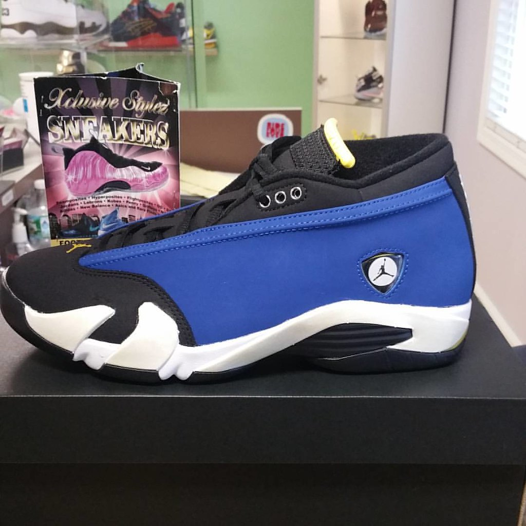 50995d419db ... AIR JORDAN 14 RETRO LANEY SIZE 9 $275  sneakerkingz1972#realxclusivestylez#2035152585#igsneakercommunity#
