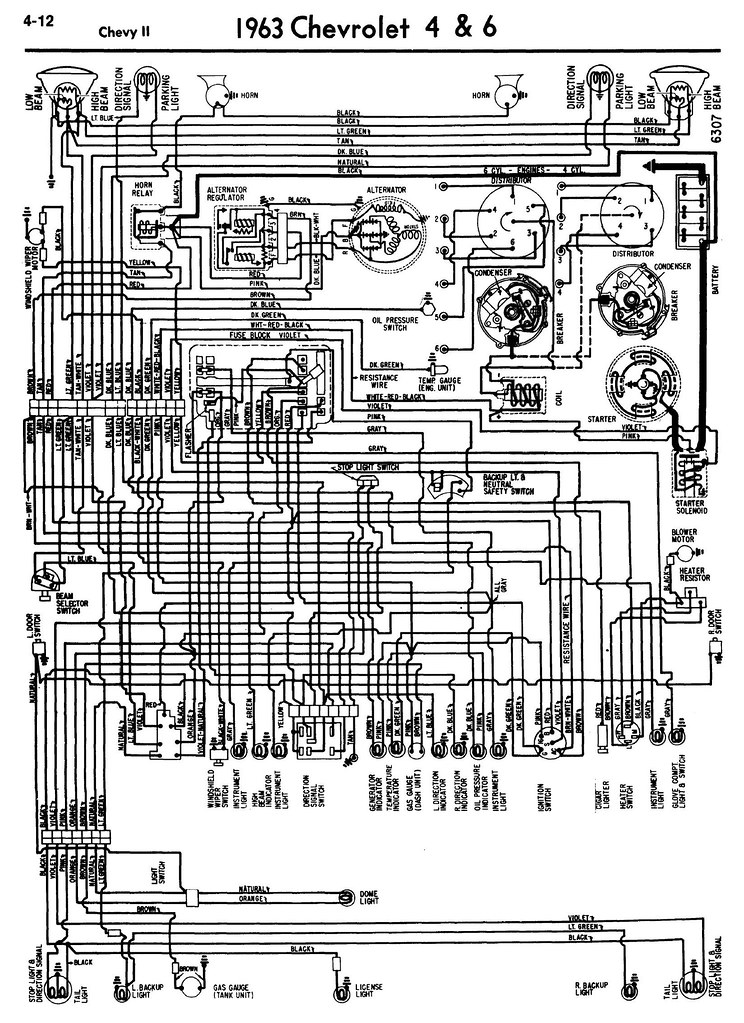 1963 Nova Wiring Diagrams