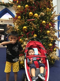 Weekend @ IPC and Xmas Decor @ The Curve