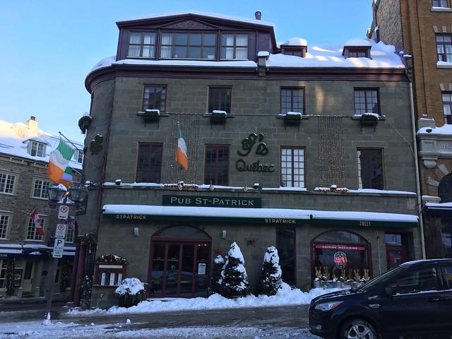 St Patrick's pub