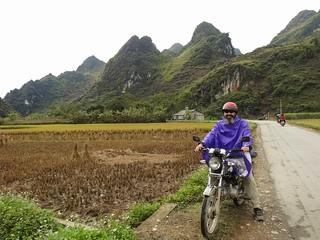 Marc on motorbike
