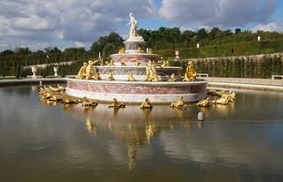 124 Kasteel van Versailles tuinen