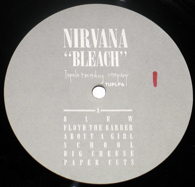 "NIRVANA BLEACH 12"" LP Vinyl Gramophone Record"
