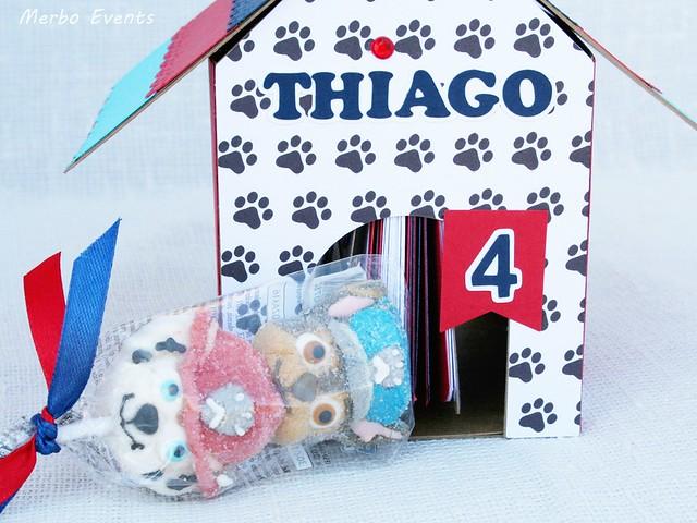 Álbum de fotos y recuerdos Casa Patrulla Canina version niño