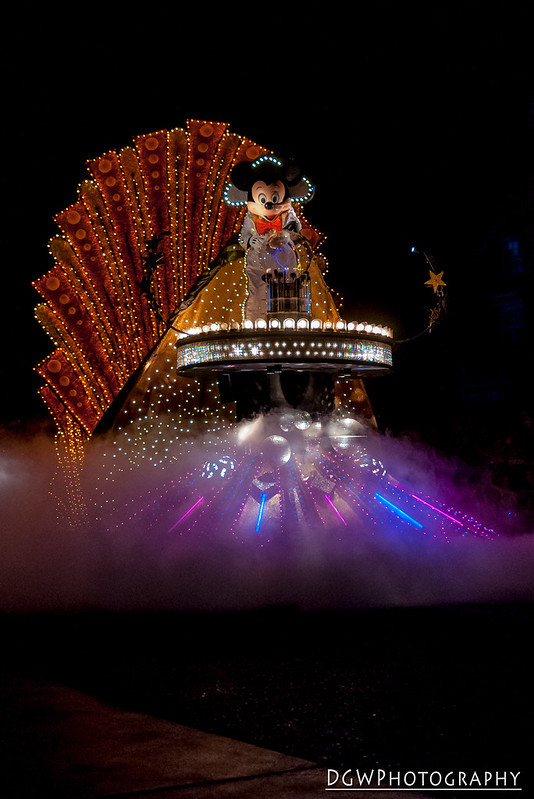Walt Disney World SpectroMagic Parade