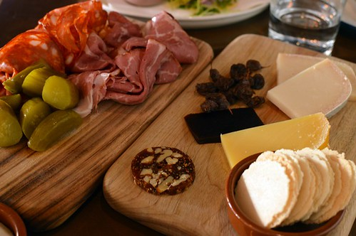 Meat board, cheese board