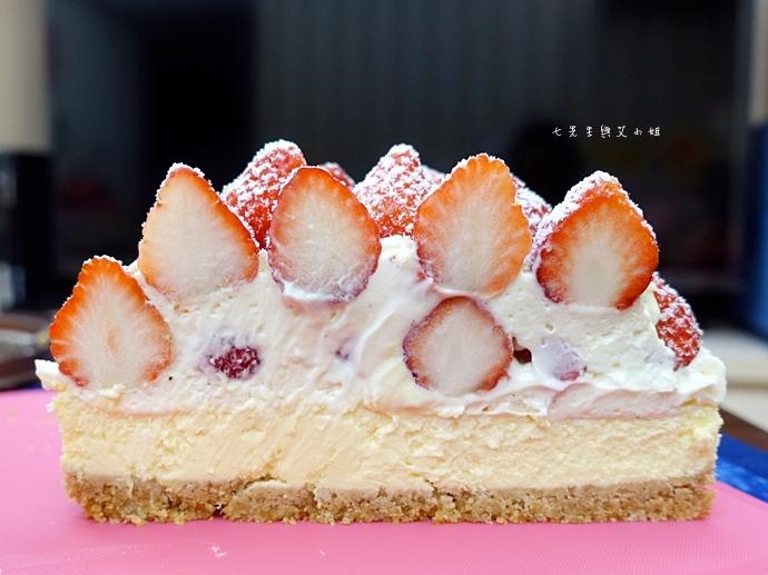 7 士林宣原烘焙蛋糕專賣店 雙層草莓蛋糕 草莓卡士達起士蛋糕
