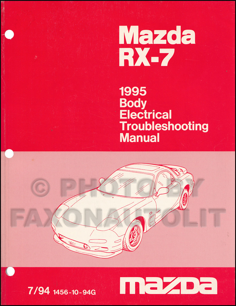 ... automanualsrepair Mazda Rx7 Wiring Diagram Manual | by automanualsrepair