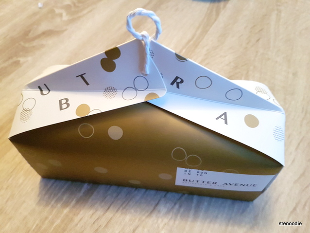 Butter Avenue macaron box