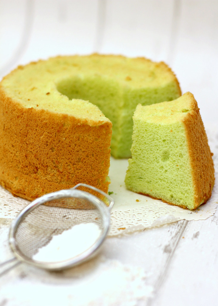 The Ultimate Pandan Chiffon Cake: Galicier Confectionery