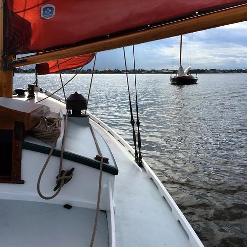Slow sailing