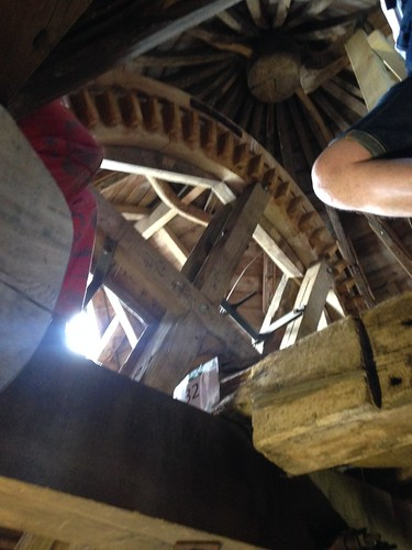 Inside Wheatley windmill on an open day in June 2015 | by kayels