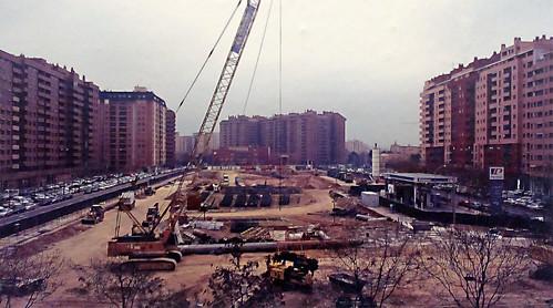 Aragonia 2006 obras de construcci n del bloque de for Pisos aragonia zaragoza