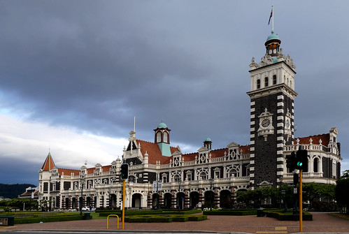 Dunedin Railway Station. NZ | by Bernard Spragg