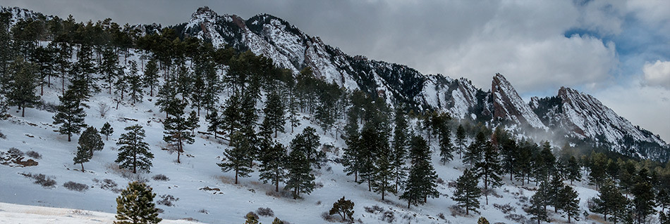 Flatirons from NCAR, Boulder CO