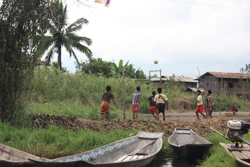 Инле - достопримечательность Бирмы