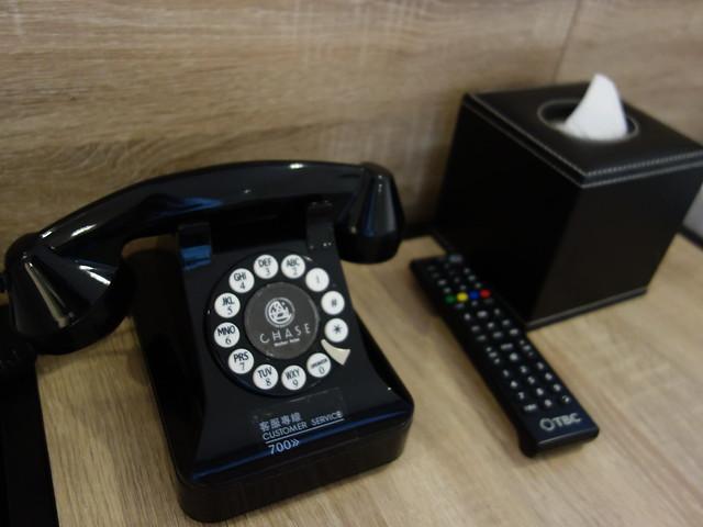 復古風的電話@台中鵲絲旅店