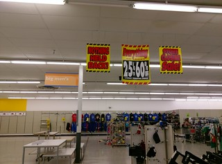 Nothing held back in the Jonesboro Kmart big men's department | by l_dawg2000