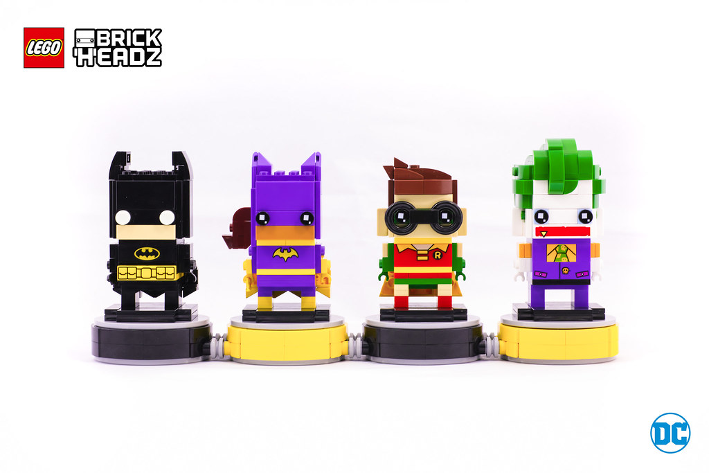 How to get every single figurine in the LEGO BrickHeadz series in ...