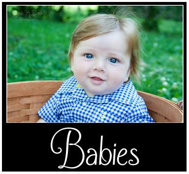 Babies Portfolio Button