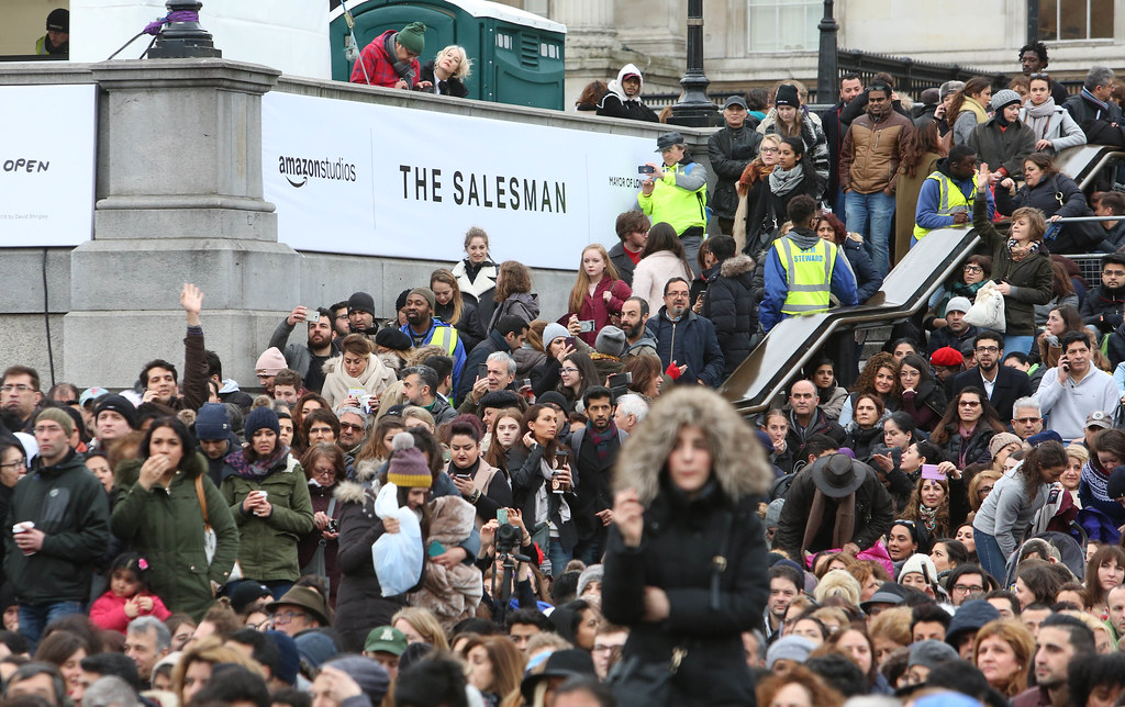 The Salesman - Uk Premiere at Trafalgar Square