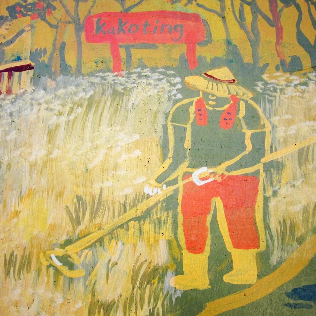 勞動-疏伐竹林