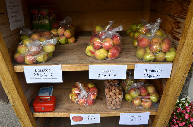 Help yourself to apples & walnuts in The Black Forest, Germany