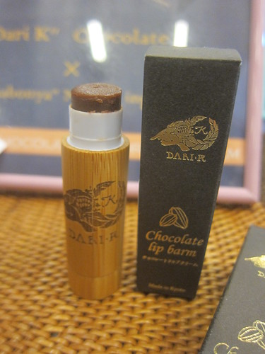 Chocolate Lip Balm Dari K - Salon du Chocolat | by sela-v