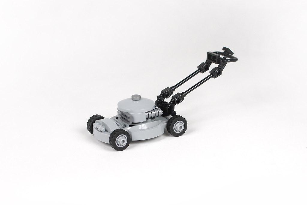 Lego lawn mower - atana studio
