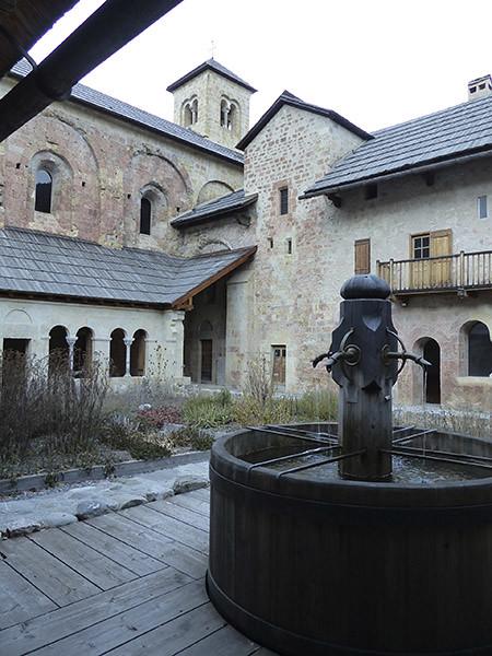 le lavabo de l'abbaye