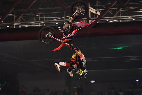 Petr Pilat, FMX, Arenacross Tour, Birmingham 2017
