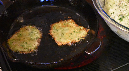 Dip Diva's Fried Zucchini Fritters