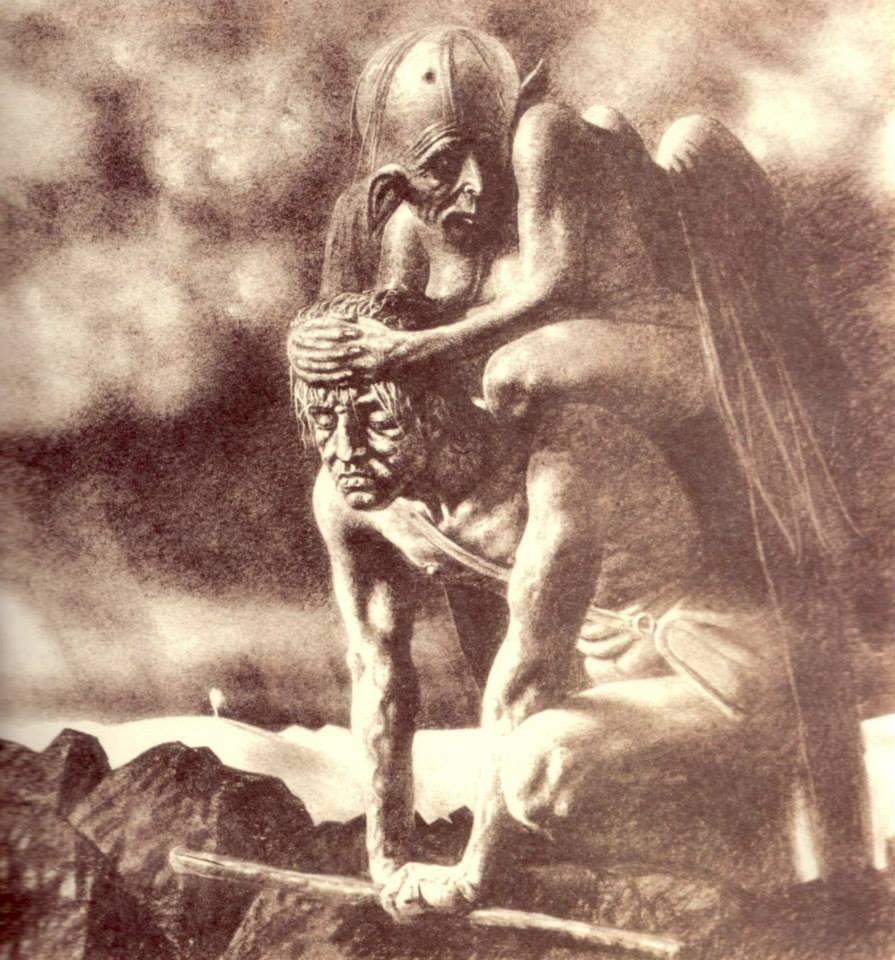Stefan Zechowski - Burden of Existence, 1934