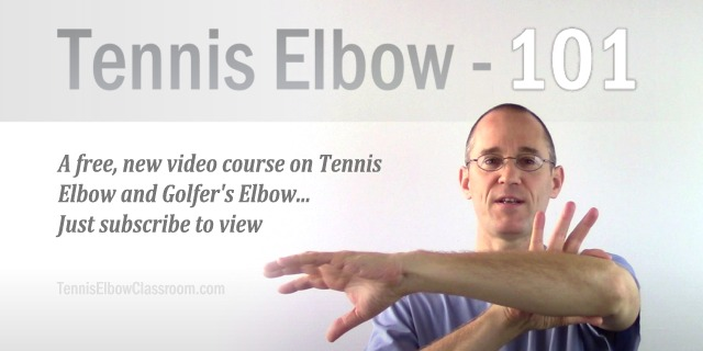 Tennis Elbow 101: A Free Intro Course To Tennis And Golfers Elbow