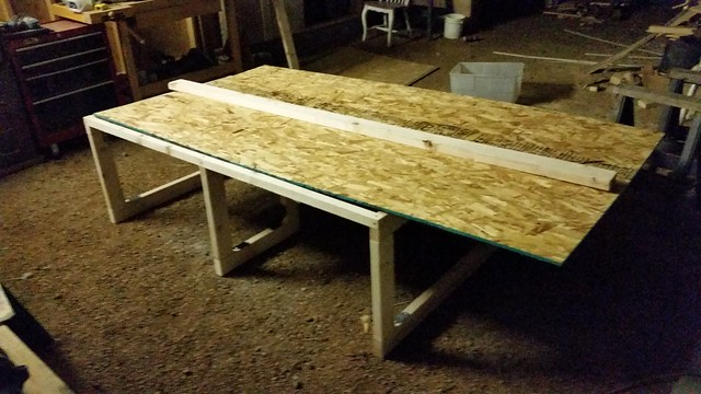 Ready for my first oriented strand board cut!