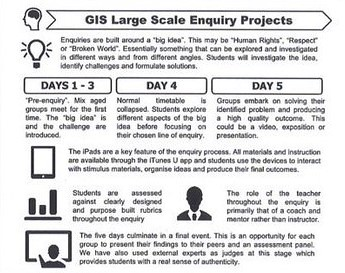 GIS Large-Scale Enquiry