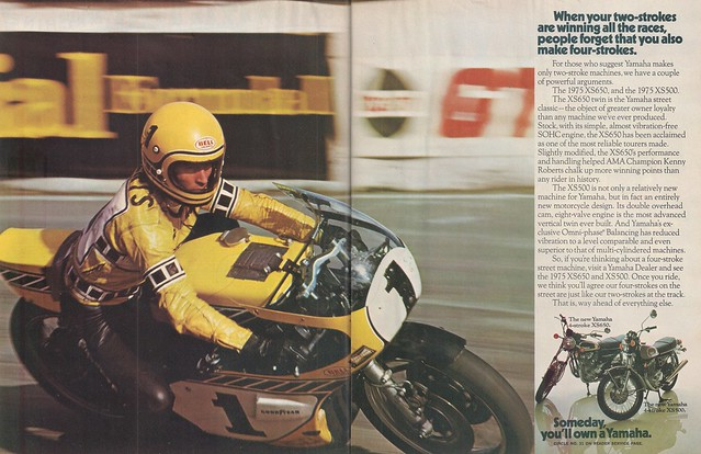 Kenny Roberts XS650 XS500