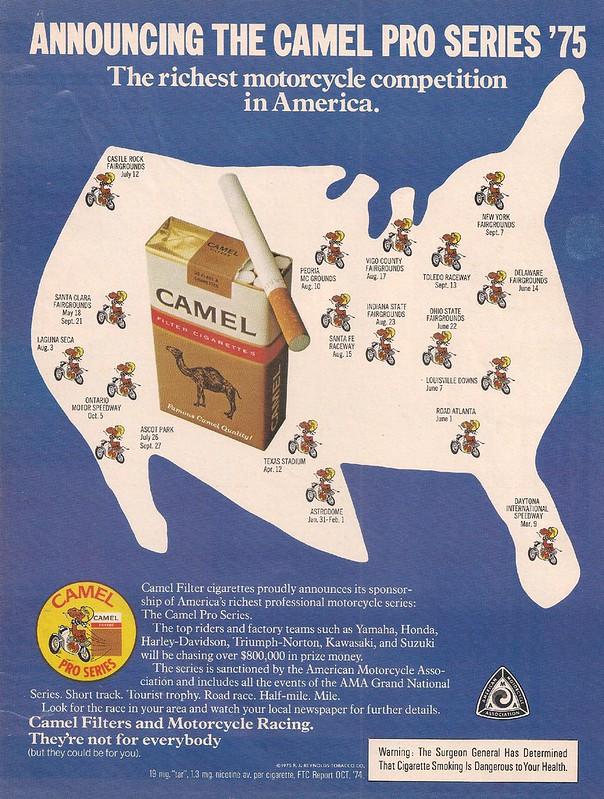 Camel Pro Series '75